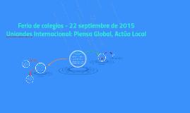 Feria de colegios - 22 septiembre de 2015