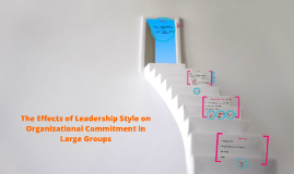 The Effects of Leadership Style on Organizational Commitment
