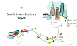 """Campaña de concientización vial """"SENDRA"""""""