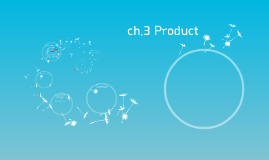ch.3 Product