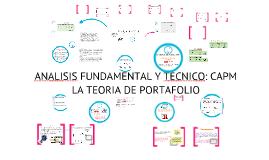 Analisis fundamental y tecnico :Teoria de portafolio
