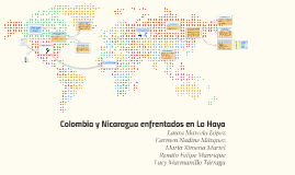Colombia y Nicaragua entrentados en La Haya