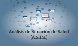 Análisis de Situación de Salud (A.S.I.S.)