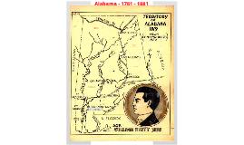 Alabama (1781 - 1823)