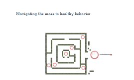 Copy of Hunter and Kelsey's Health Maze