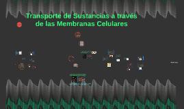 Copy of Transporte de Sustancias a través de las Membranas Celulares