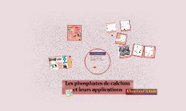 Les calcium phosphates et  leurs applications030615