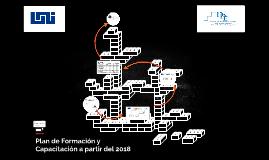 Plan de Formación y Capacitación 2018