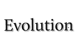 Copy of Evolution