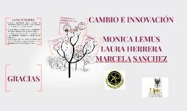 Copy of CAMBIO E INNOVACIÓN
