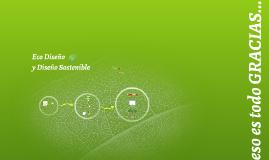 Ecodiseño y Diseño Sostenible