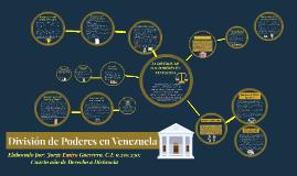 División de Poderes en Venezuela