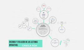 HISTORIA Y EVOLUCION DE LOS SITEMAS OPERATIVOS