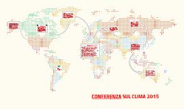 CONFERENZA SUL CLIMA 2015