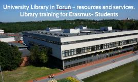 Erasmus students presentation