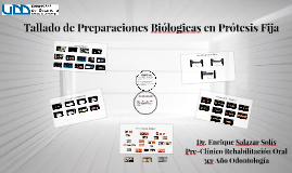 Preparaciones Biólogicas en Prótesis Fija