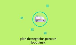 plan de negocios para un foodtruck