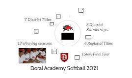 Doral Softball 2018
