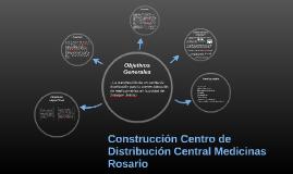 Construcción Centro de Distribución Central Medicinas Rosari