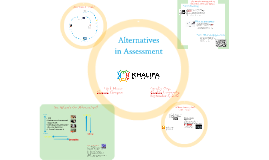 Alternatives in Assessment