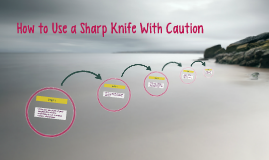 How to Use a Sharp Knife With Caution