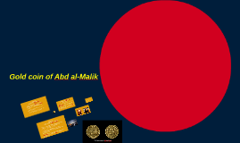 Gold coin of Abd al-Malik
