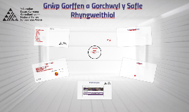 Grŵp Gorffen a Gorchwyl y Safle Rhyngweithiol