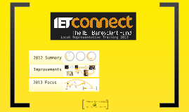 IET Connect