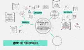 Copy of RAMAS DEL PODER PUBLICO