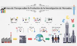 Linea de tiempo Evolucion de la investigacion de mercados