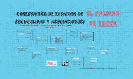 OBSERVACIÓN DE ESPACIOS DE SOCIABILIDAD Y ASOCIACIONES