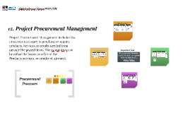 BW 12. Procurement Management