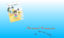 At the Beach - Personal P