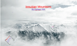 Copy of Innuitian Mountains