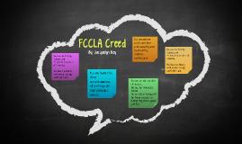 FCCLA Creed