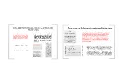 Presentación de ponencia y articulo de Jorge Ronderos Valderrama