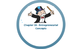 Marketing - Chapter 33 - Entrepreneurial Concepts