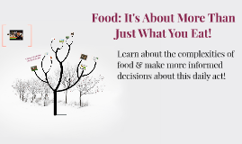 You are the Food Movement.