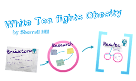 White tea and obesity