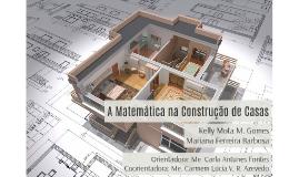 A Matemática na Construção de Casas