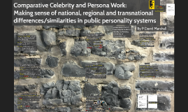 Comparative Celebrity and Persona Work: Making sense of national, regional and transnational differences/similarities in public personality systems