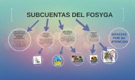 Copy of SUBCUENTAS DEL FOSYGA