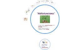 Problemas multiplicativos