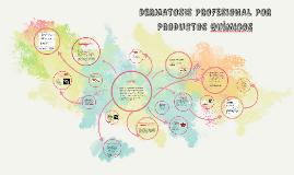 DERMATOSIS PROFESIONAL POR PRODUCTOS QUIMICOS
