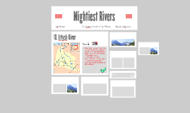 Mightiest Rivers