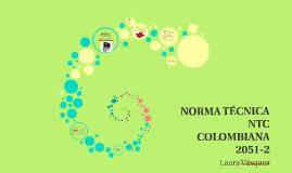Copy of NORMA TÉCNICA NTC