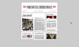 Copy of PROBLEMÁTICAS SOCIOCULTURALES