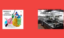 Copy of Programa de Limpieza y Desinfección