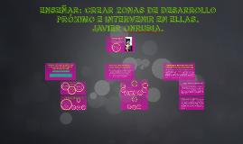 Copy of Enseñar: crear Zonas de Desarrollo Próximo e intervenir en e