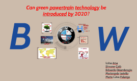 Can green powertrain technology be introduced by 2020?